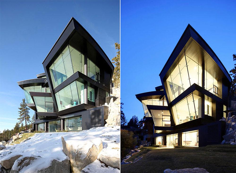 Lake House, Lake Tahoe by Mark Dziewulski Architect