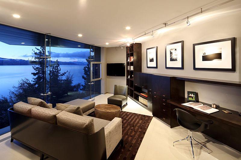 Office, Lake House, Lake Tahoe by Mark Dziewulski Architect
