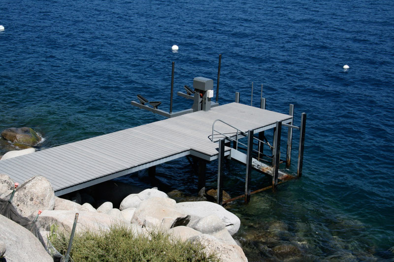 Jetty, Lake House, Lake Tahoe by Mark Dziewulski Architect