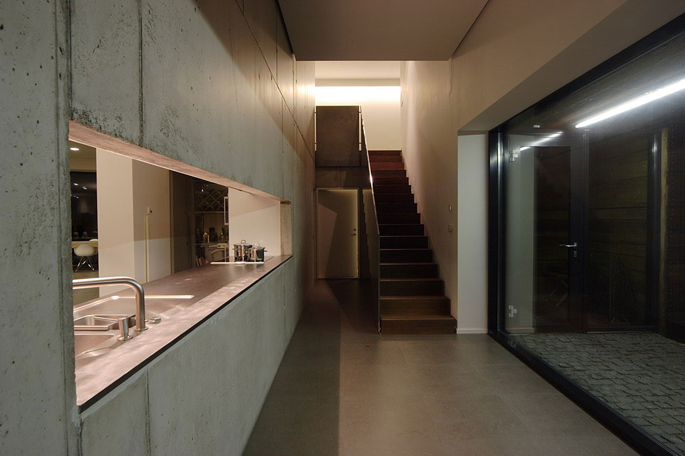 Kitchen, Family House in Utriai, Lithuania by G.Natkevicius & Partners