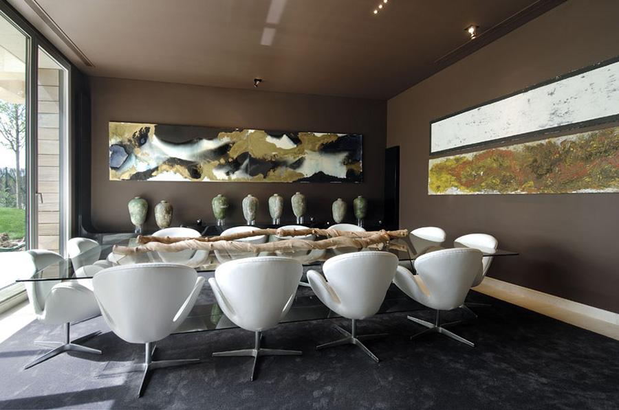 Dining Room, Vivienda 4 Luxury Development, Madrid by A-cero Architects