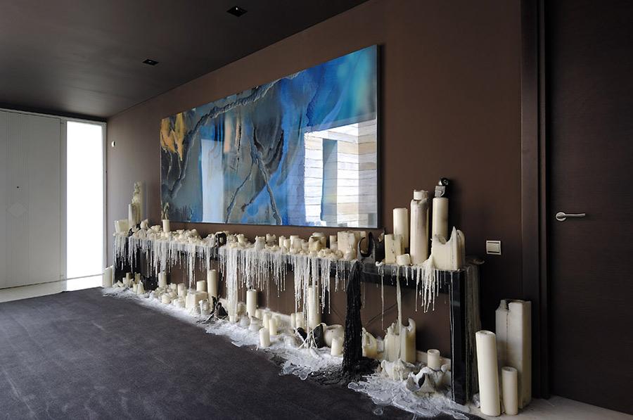 Foyer Art, Vivienda 4 Luxury Development, Madrid by A-cero Architects