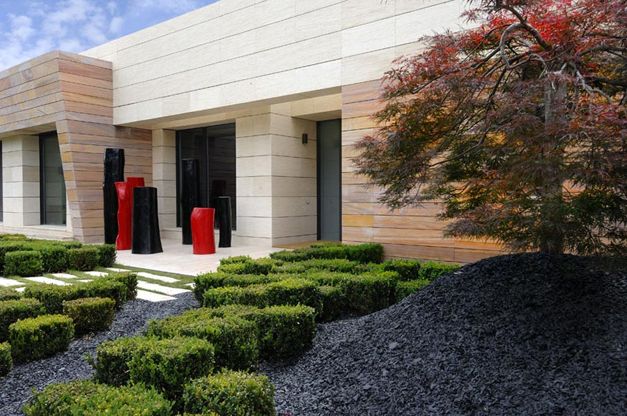 Garden, Vivienda 4 Luxury Development, Madrid by A-cero Architects