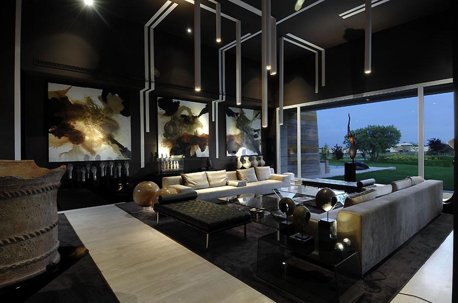 Living Room, Vivienda 4 Luxury Development, Madrid by A-cero Architects