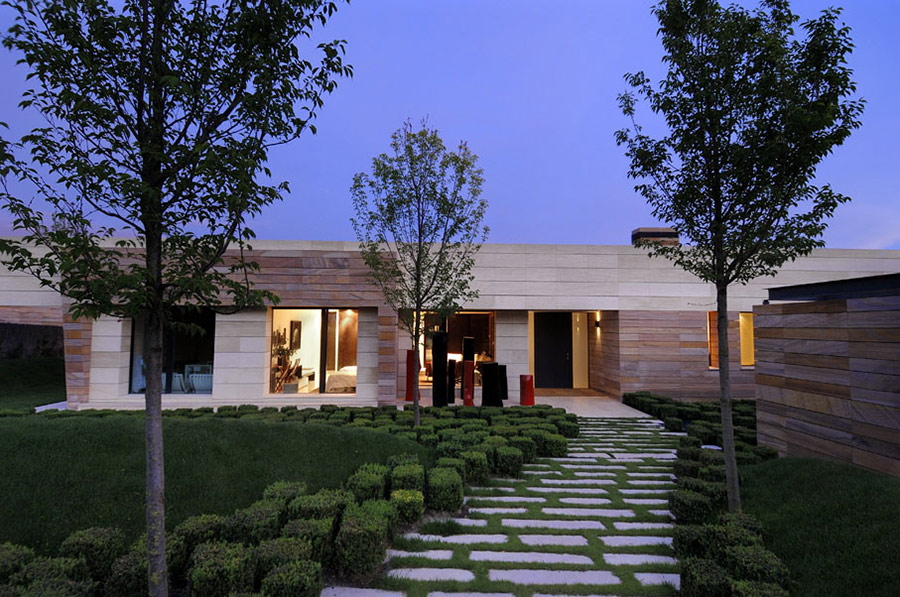 Vivienda 4 Luxury Development, Madrid by A-cero Architects