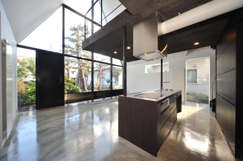 Kitchen, ASH House, Japan by IRA