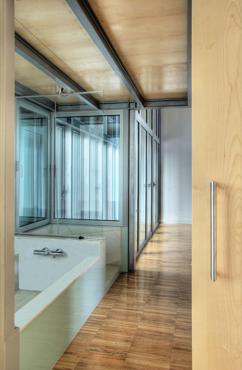 Bathroom, Ants' House, Spain by Espegel-Fisac Architects