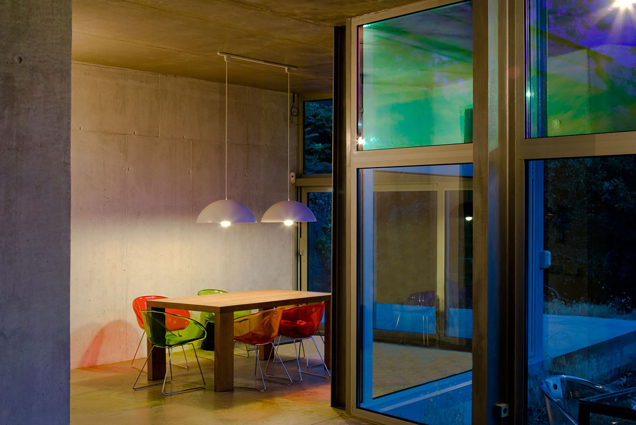 Dining Room, Ants' House, Spain by Espegel-Fisac Architects