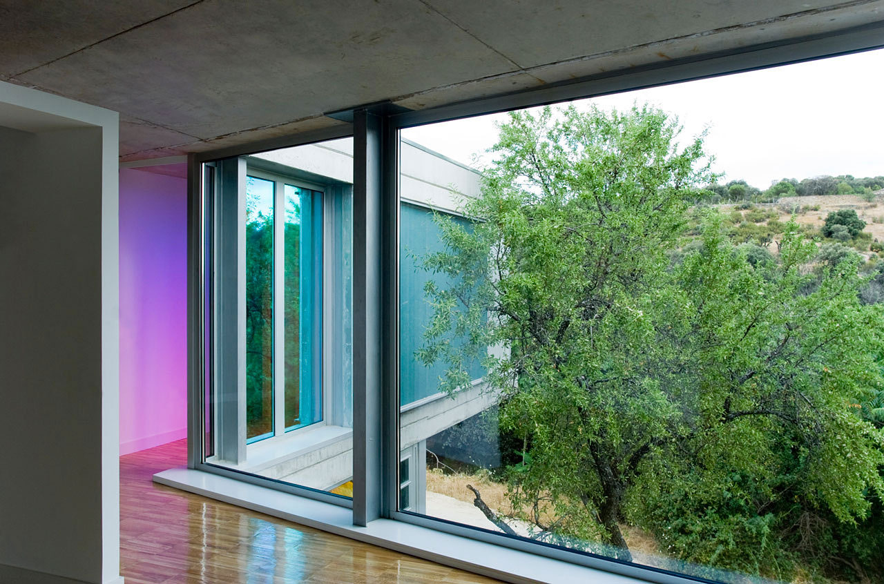 Hall, Ants' House, Spain by Espegel-Fisac Architects