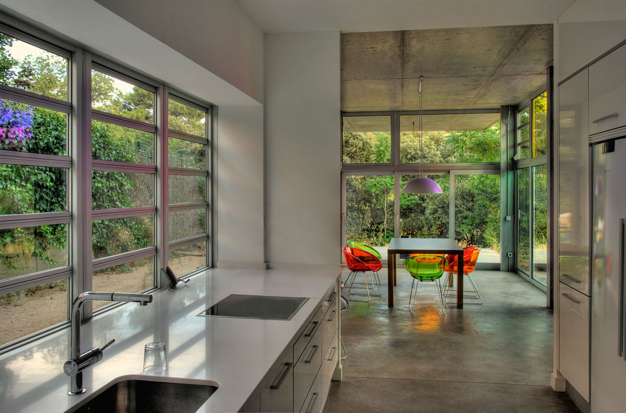 Kitchen, Ants' House, Spain by Espegel-Fisac Architects