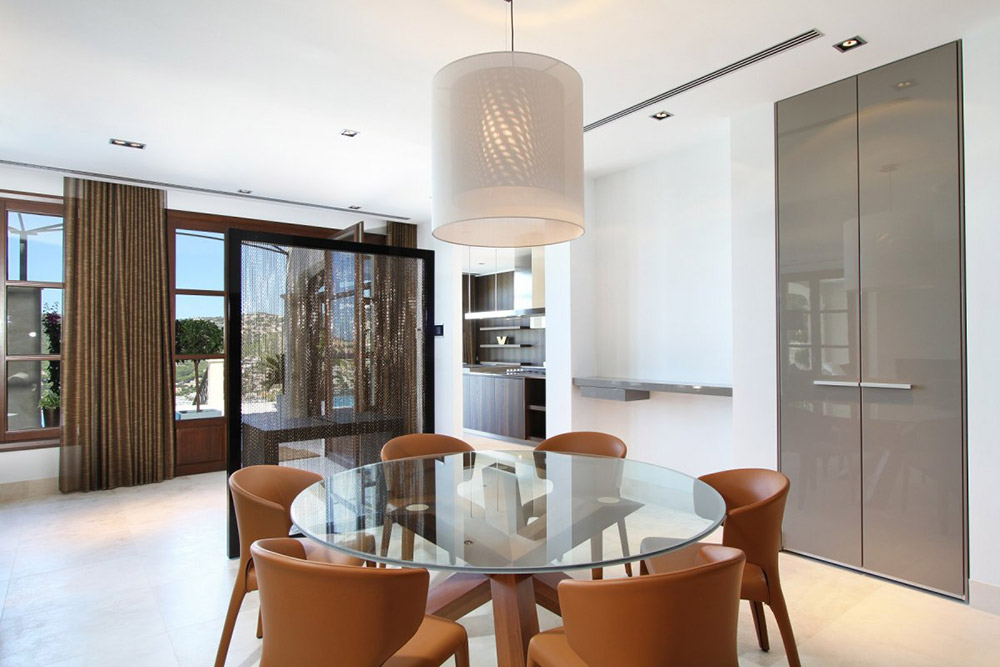 Dining, Can Siurell Villa, Mallorca by Curve Interior Design