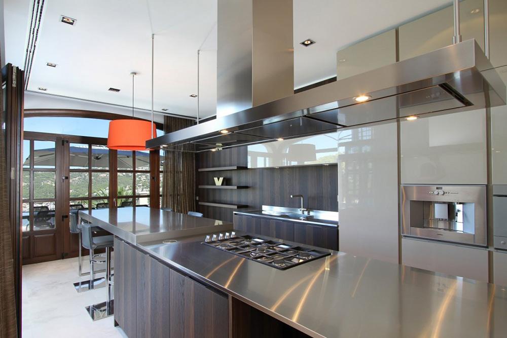Kitchen, Can Siurell Villa, Mallorca by Curve Interior Design