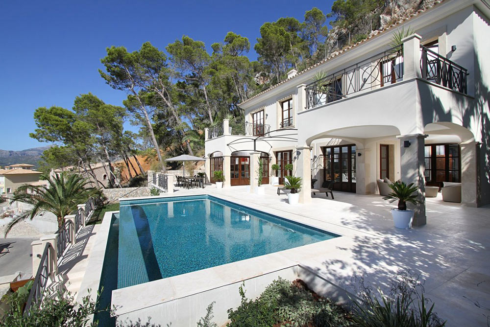 Pool, Can Siurell Villa, Mallorca by Curve Interior Design