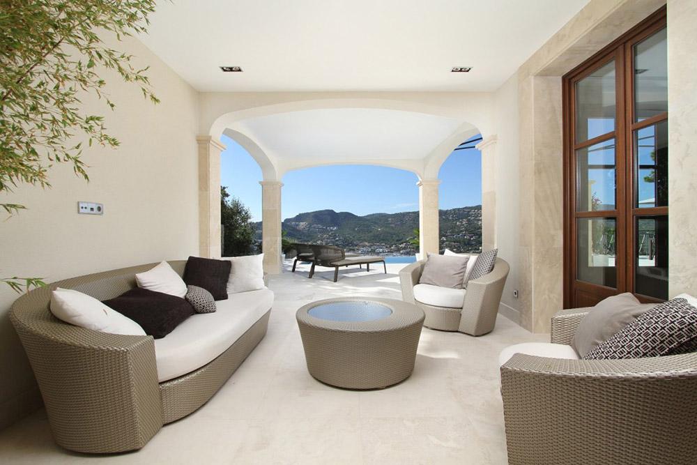 Outdoor Living, Can Siurell Villa, Mallorca by Curve Interior Design