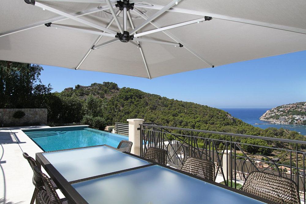 Pool, View, Can Siurell Villa, Mallorca by Curve Interior Design