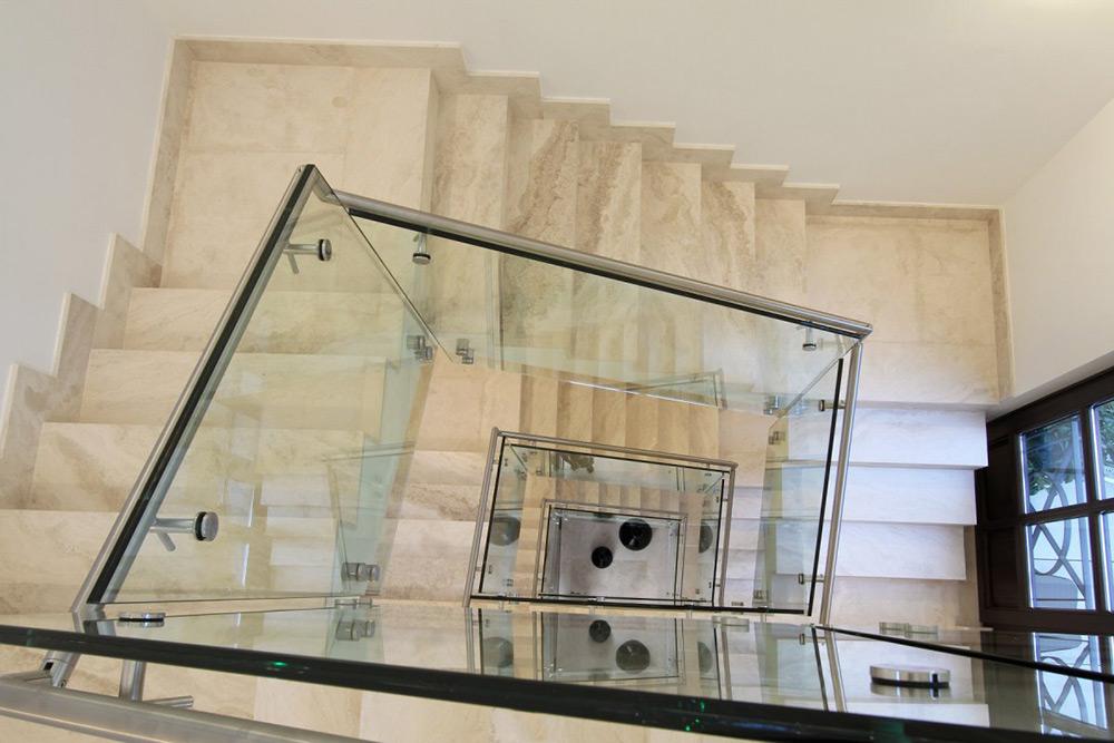 Staircase, Can Siurell Villa, Mallorca by Curve Interior Design