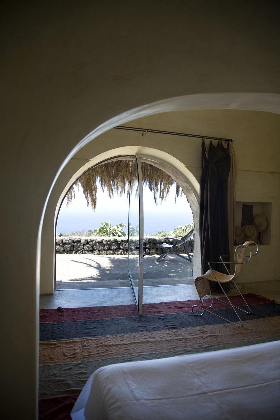 Bedroom, Casa Albanese, Island of Pantelleria, Italy by ASA Studio Albanese