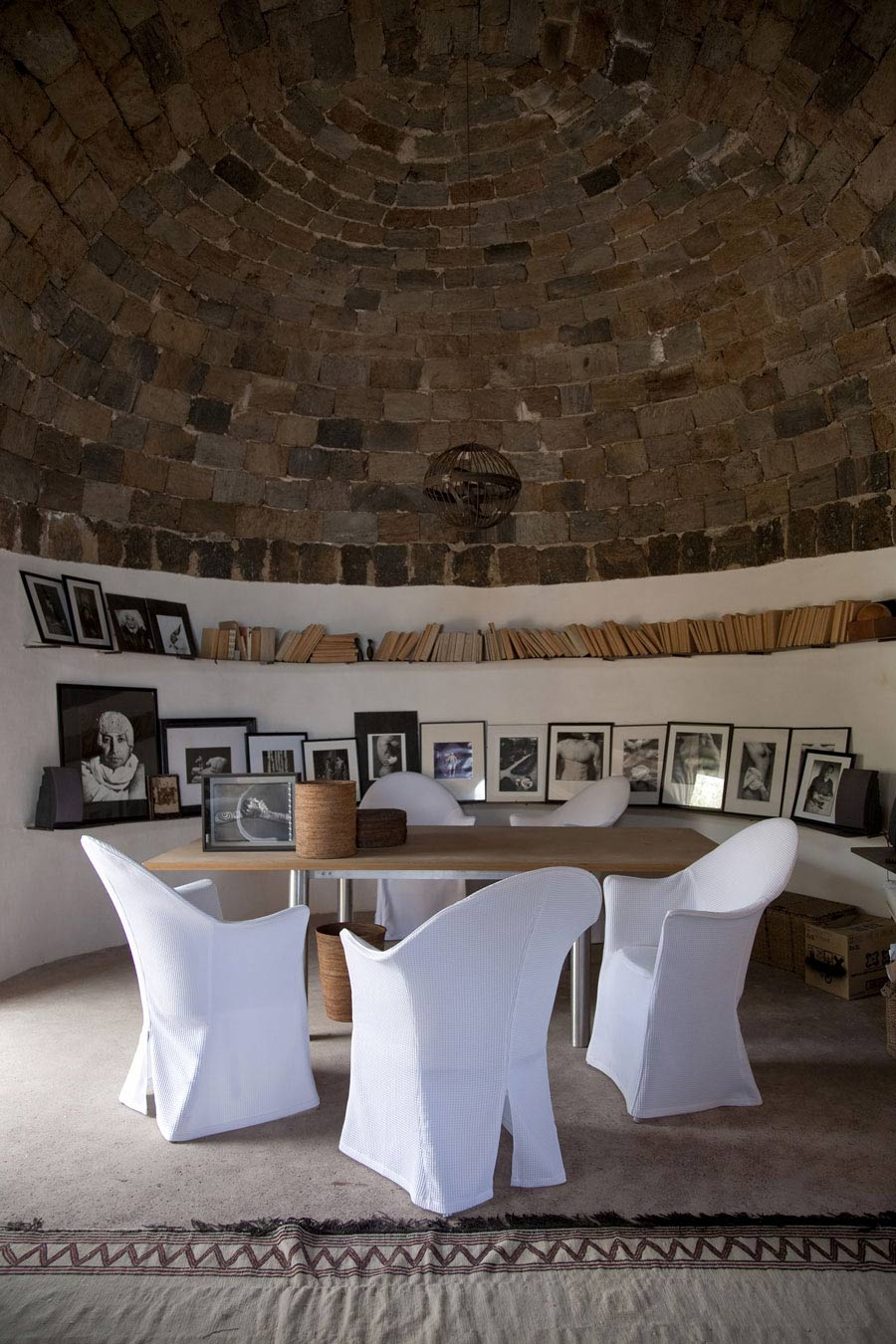 Dining Space, Casa Albanese, Island of Pantelleria, Italy by ASA Studio Albanese