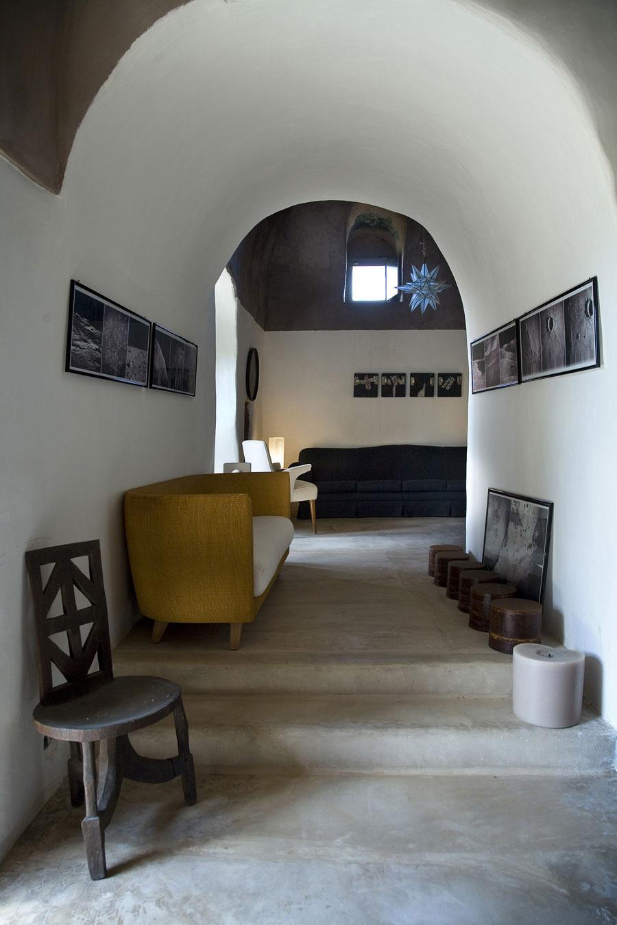 Hall, Casa Albanese, Island of Pantelleria, Italy by ASA Studio Albanese