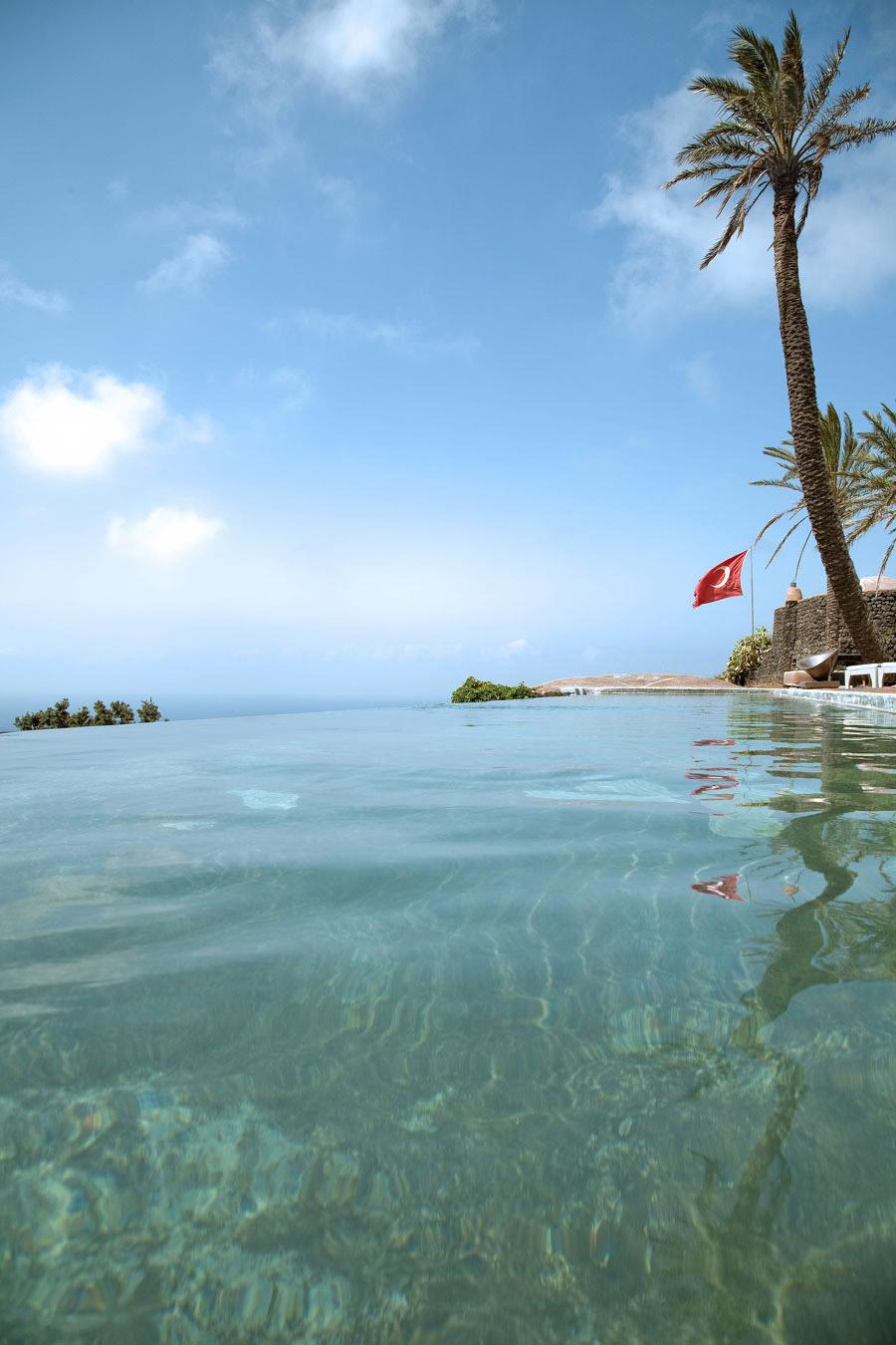 Swimming Pool, Casa Albanese, Island of Pantelleria, Italy by ASA Studio Albanese