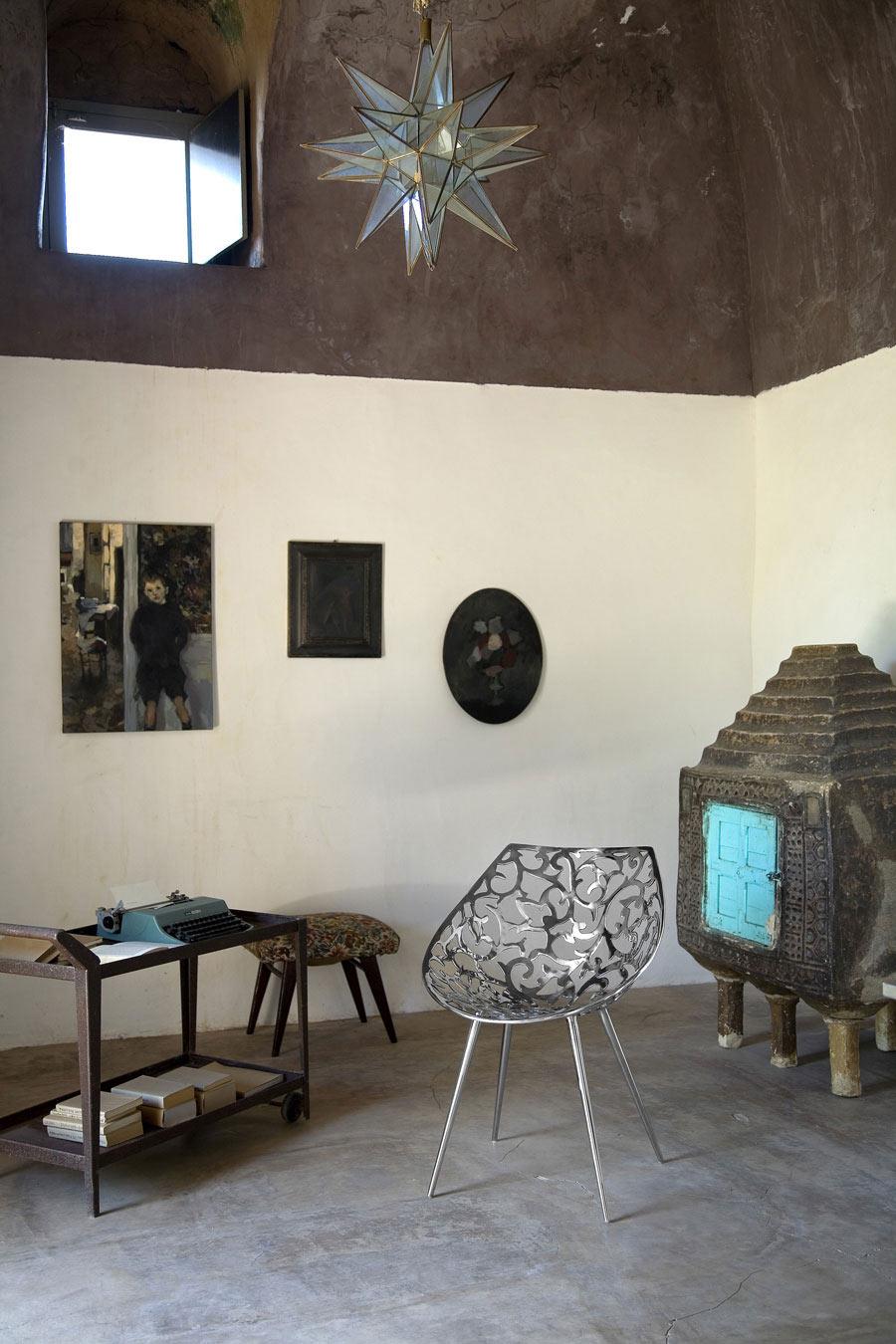 Living Space, Casa Albanese, Island of Pantelleria, Italy by ASA Studio Albanese