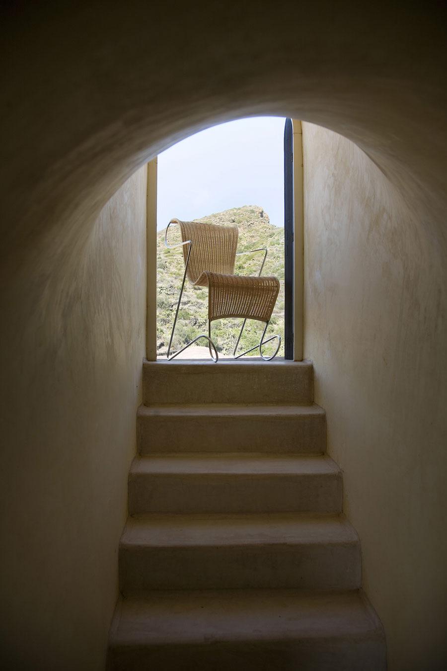 Staircase, Casa Albanese, Island of Pantelleria, Italy by ASA Studio Albanese