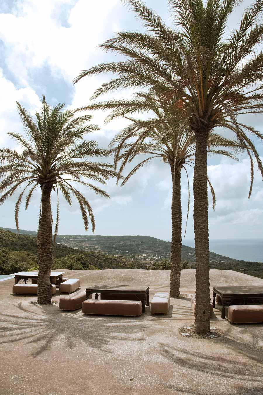 Terrace, Views, Casa Albanese, Island of Pantelleria, Italy by ASA Studio Albanese
