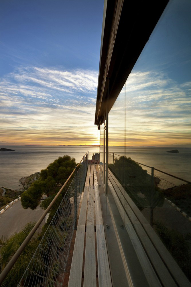 Balcony, Diamond House, Alicante, Spain by Abis Arquitectura