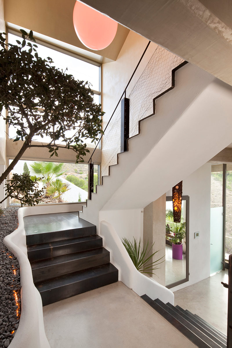 Staircase, Diamond House, Alicante, Spain by Abis Arquitectura