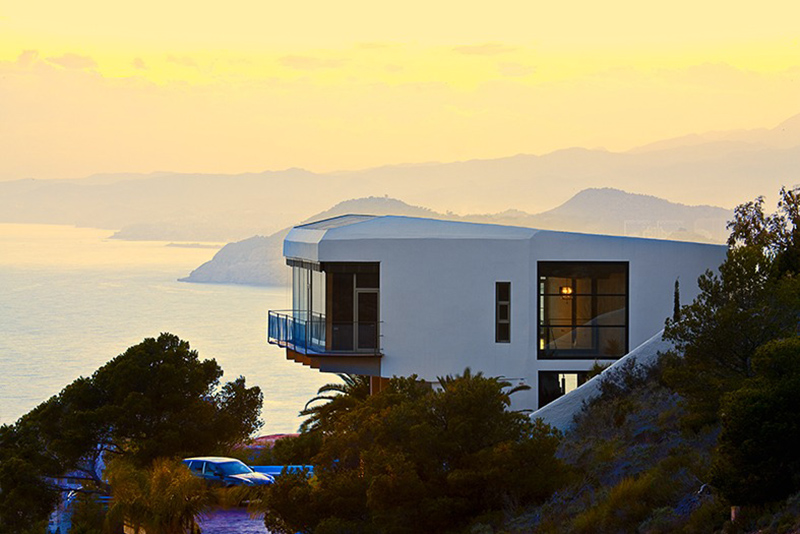 Diamond House, Alicante, Spain by Abis Arquitectura
