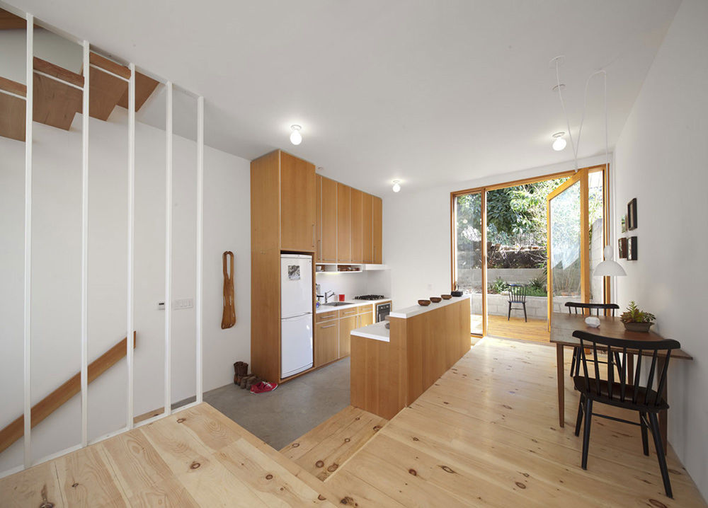 Kitchen, Dining, Eels Nest, Los Angeles by Anonymous Architects