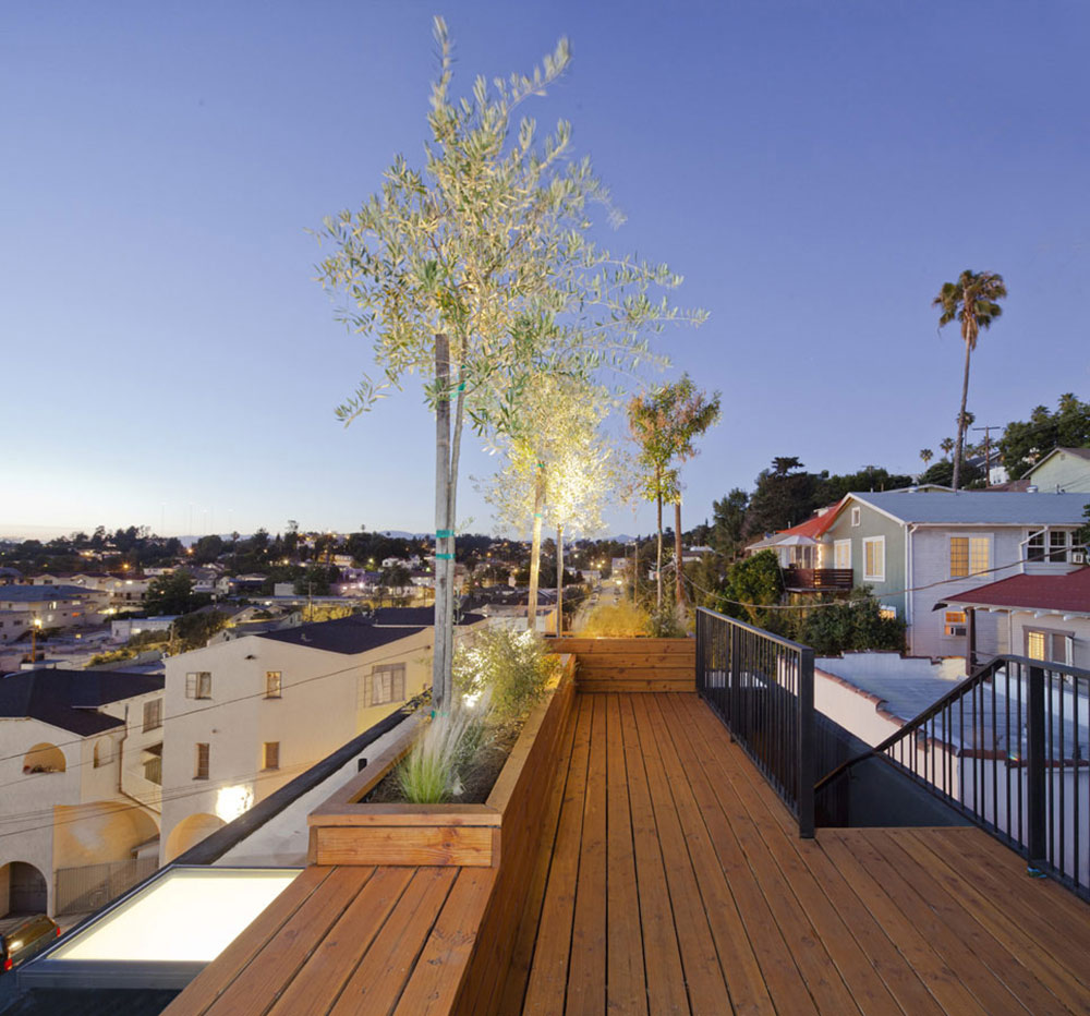 Roof Terrace, Eels Nest, Los Angeles by Anonymous Architects