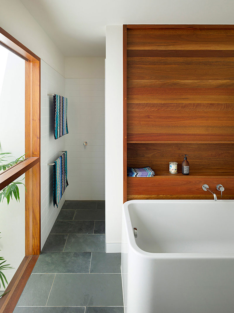 Bathroom, Fig Tree Pocket House 2, Brisbane, Australia by Shane Plazibat Architects