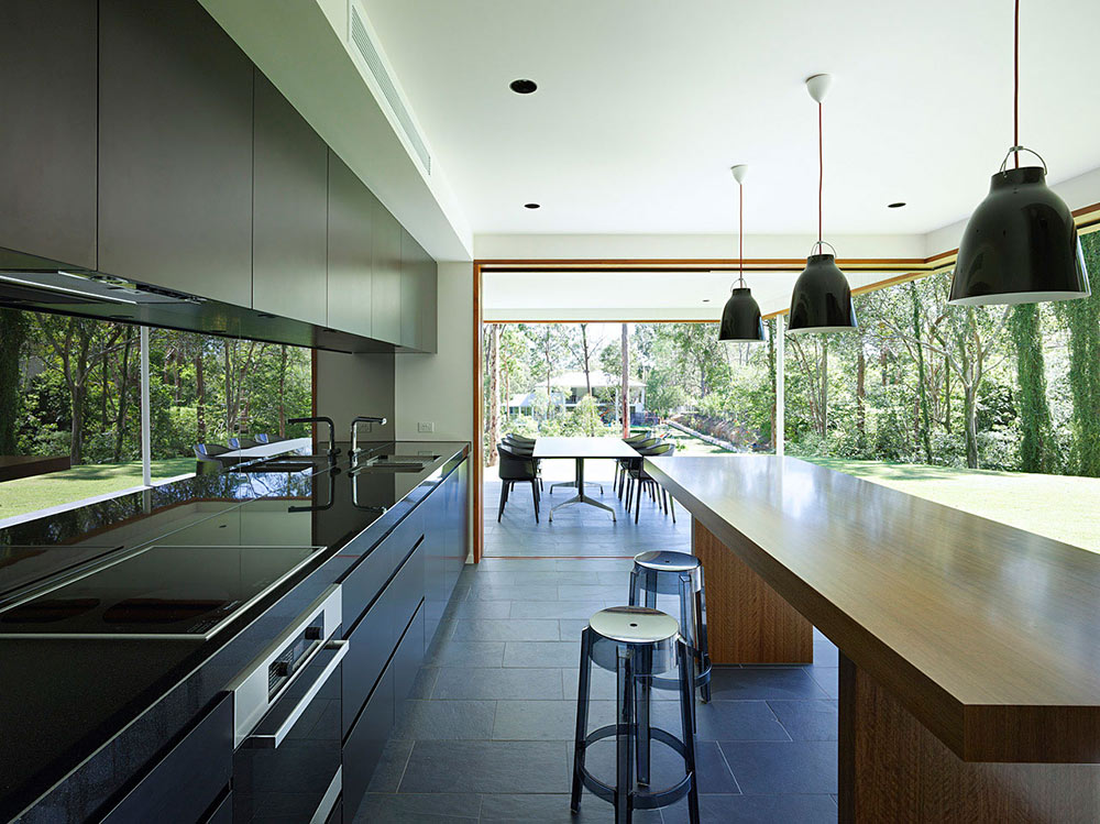 Kitchen, Fig Tree Pocket House 2, Brisbane, Australia by Shane Plazibat Architects