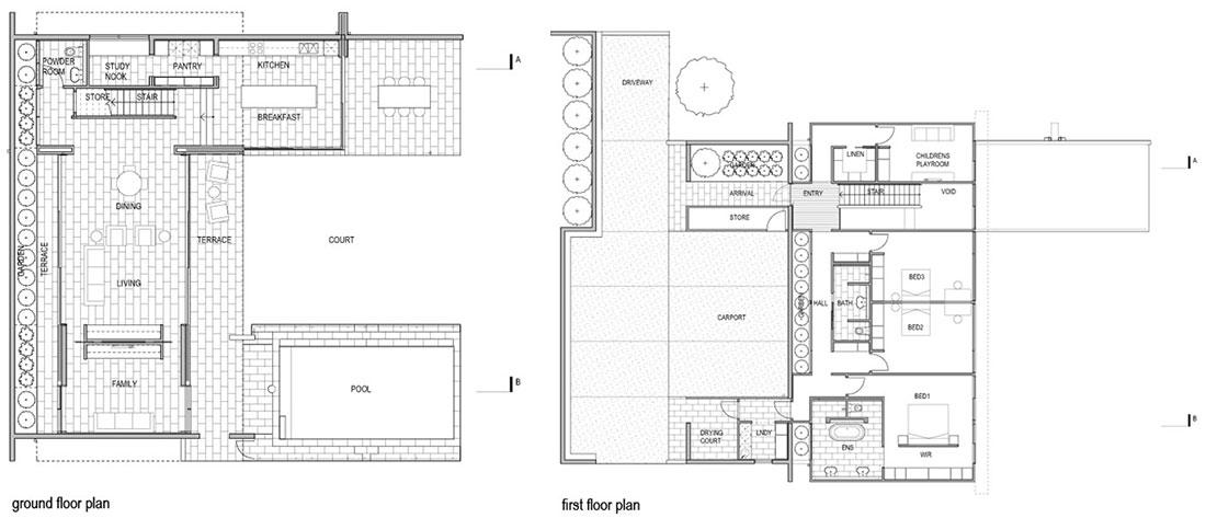 Plan Fig Tree Pocket House 2 Brisbane Australia By