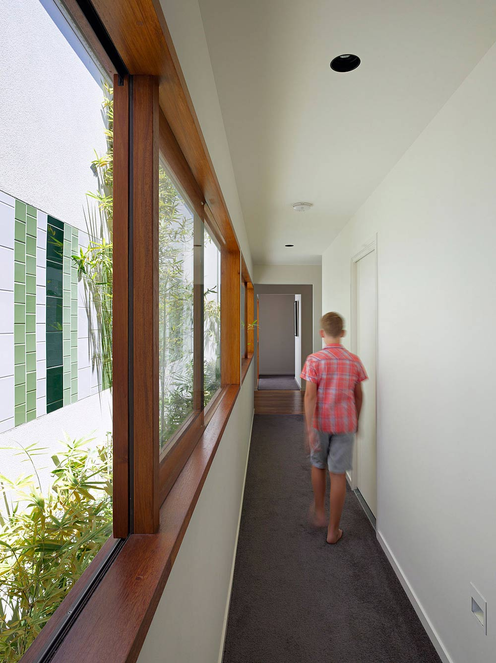 Hall, Fig Tree Pocket House 2, Brisbane, Australia by Shane Plazibat Architects