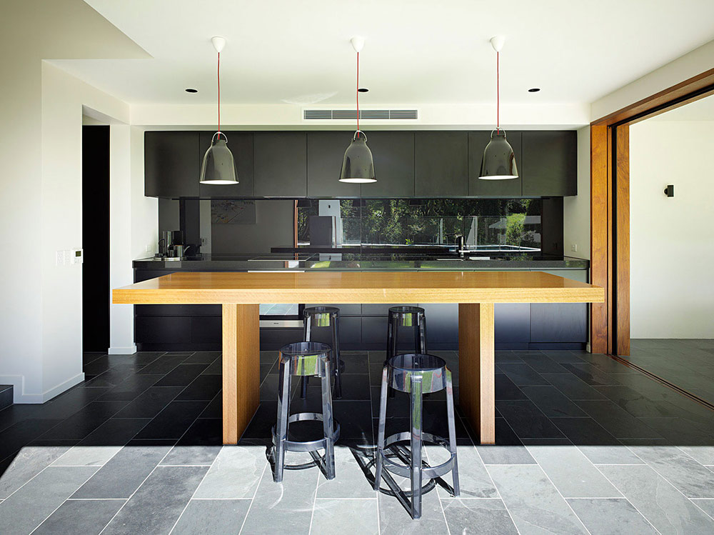 Kitchen, Breakfast Table, Fig Tree Pocket House 2, Brisbane, Australia by Shane Plazibat Architects