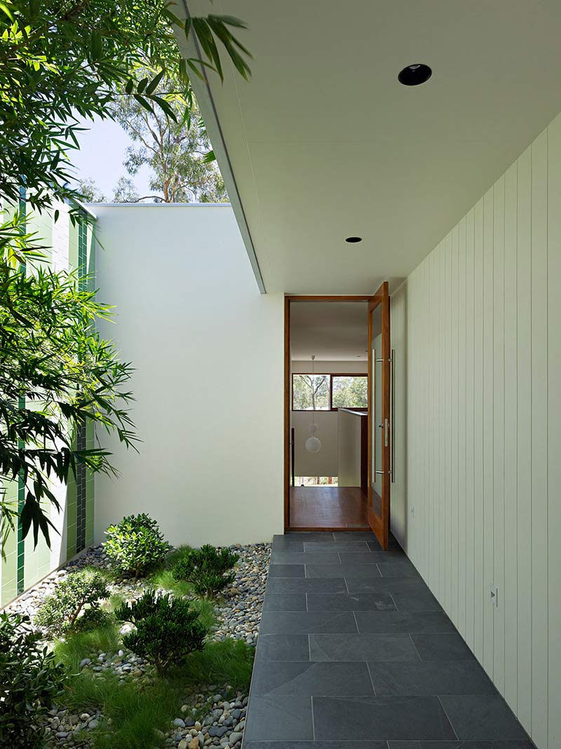 Entrance, Fig Tree Pocket House 2, Brisbane, Australia by Shane Plazibat Architects