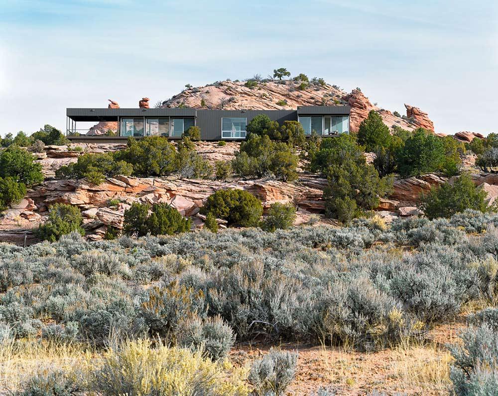 Hidden Valley House, Utah by Marmol Radziner