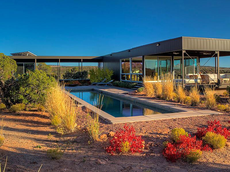 Hidden Valley House, Utah by Marmol Radziner