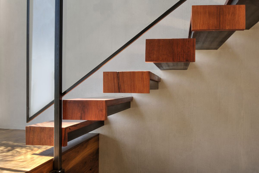 Contemporary Stairs, Hollywood Hills Residence by fer Studio