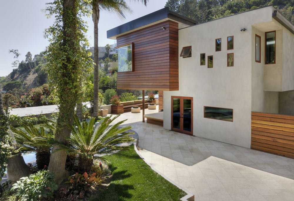 Terrace & Garden, Hollywood Hills Residence by fer Studio