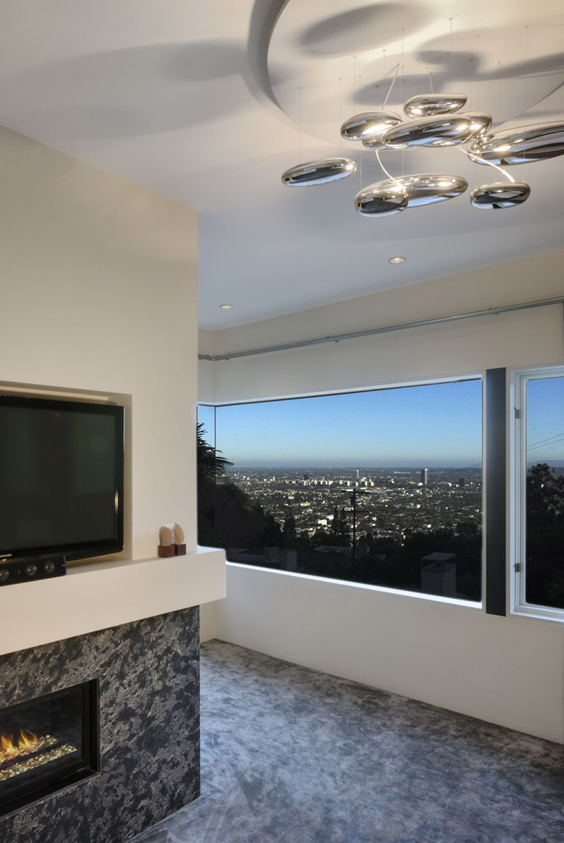 City View, Contemporary Lighting, Hollywood Hills Residence by fer Studio