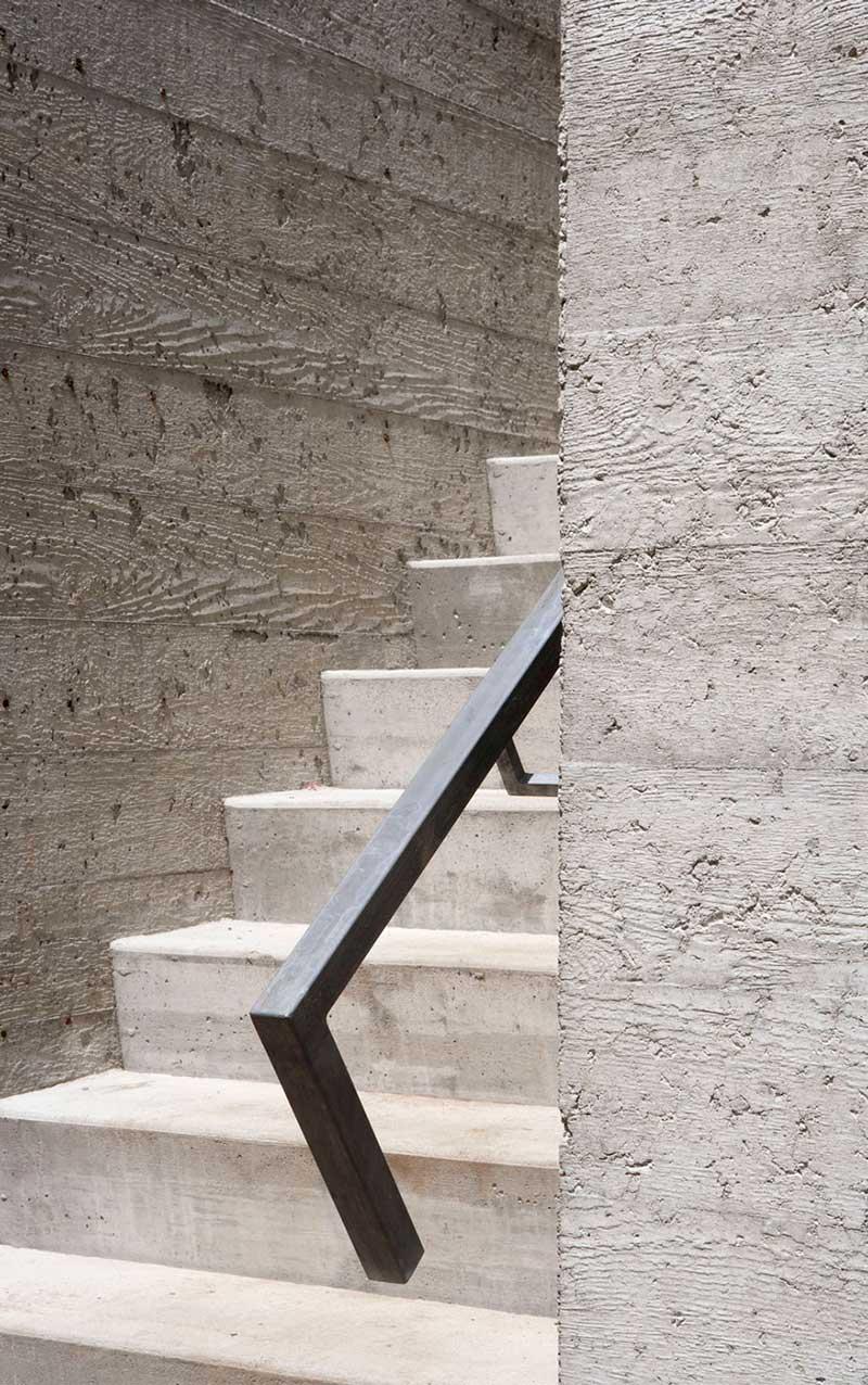 Outdoor Staircase, Maison de Bromont, Quebec, Canada by Paul Bernier