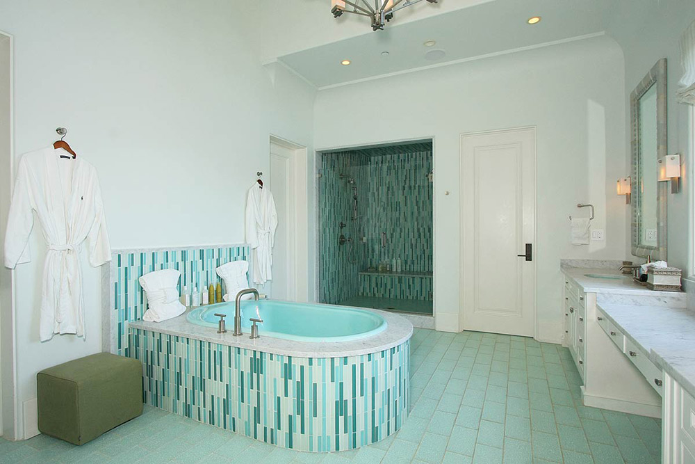 Bathroom, Beautiful Mediterranean Home Beverly Hills