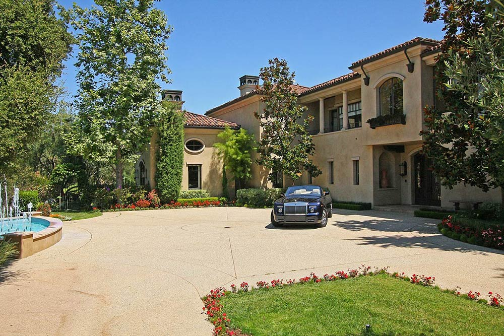 Beautiful Mediterranean Home Beverly Hills