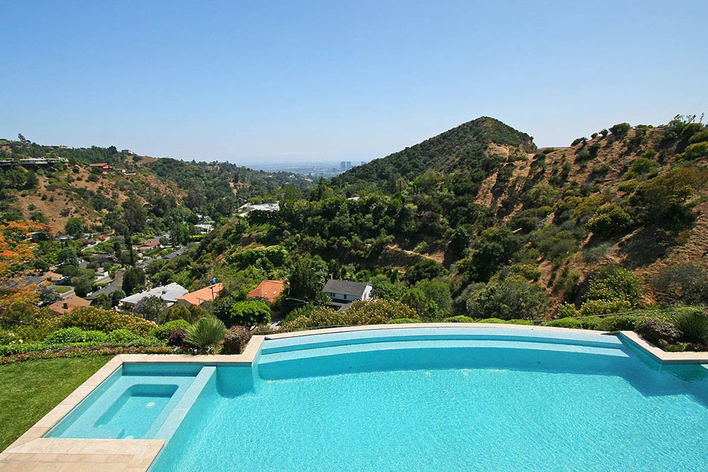Mountain Views from the Pool, Beautiful Mediterranean Home ...
