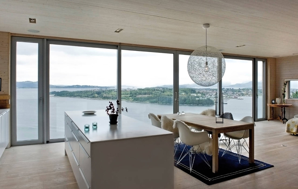 Amazing Views, Northface House, Norway by Element Arkitekter AS