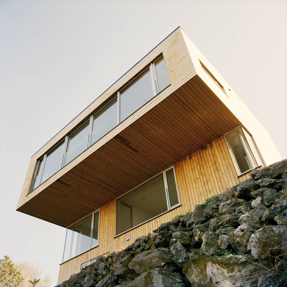 Cantilevered Design, Northface House, Norway by Element Arkitekter AS