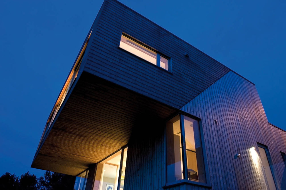 Evening, Northface House, Norway by Element Arkitekter AS